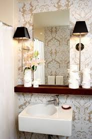 shelf above bathroom sink 164 best small bathroom colors ideas images on pinterest