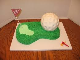 golf birthday retirement cake cakecentral com