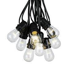 100 foot s14 led edison outdoor string lights
