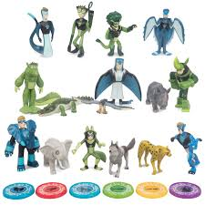 wild kratts toys 22 piece collector action figure set figures