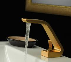 Gold Bathroom Faucets Webert Bathroom Faucets That Adore The Italian Style Gold