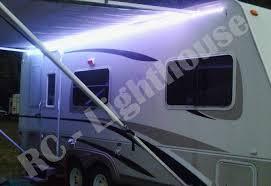 12 volt led strip lights for rv a1 rv led awning light set w ir remote control 24 key rgb 16 4
