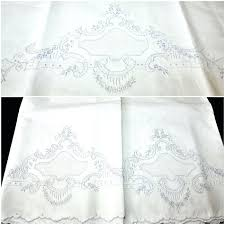 embroidered pillowcases nz free embroidered pillowcase patterns