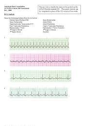 acls precourseassessment cardiopulmonary resuscitation cardiac