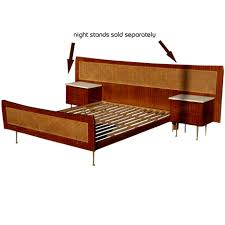 bed frames diy mid century headboard vintage bedroom sets 1960