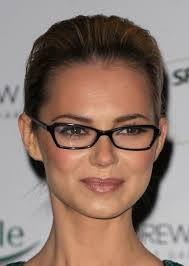 hairstyles glasses round faces short hair all to the back with narrow glasses round faces look