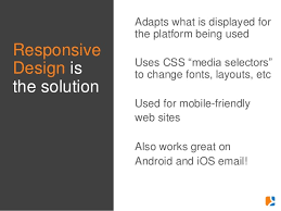 html table mobile friendly webinar email design for revenue and response