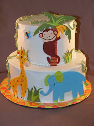 jungle baby shower cakes baby shower 3 a gallery on flickr