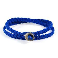 braided leather wrap bracelet images Mens blue braided leather wrap bracelet with silver button closure jpeg