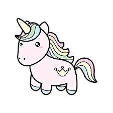 amazon rainbow hair cute unicorn crown tattoo vinyl