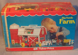 Fisher Price Toy Box 915 Play Family Farm