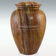 marble urns tiger eye marble grecian cremation urn engravable