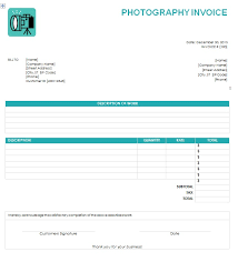 Ms Excel Invoice Template Word Invoice Photography Invoice Template Word Photography