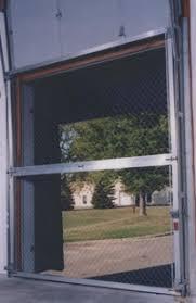 Security Overhead Door Chain Link Overhead Security Door Warehouse Dock Security Screen