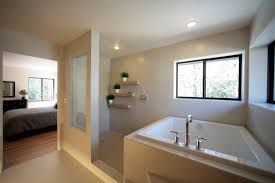 Simple Master Bathroom Ideas by Open Shower Small Bathroom Glorious Doorless Walk In Shower