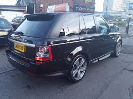 land rover black second hand land rover range rover sport 3 0 sdv6 hse black