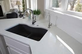 white quartz kitchen sink warestone granite quartz countertops bettendorf quad cities