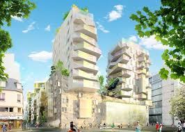 bureau logement logement 87 logements sociaux et 2 commerces zac rive
