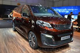 peugeot expert 2016 peugeot traveller ilab at 2016 geneva motor show indian autos blog