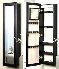 over the door cabinet over the door mirror jewelry storage over door jewelry cabinet