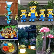 Garden Crafts Ideas 20 Best Crafts For The Garden One Project