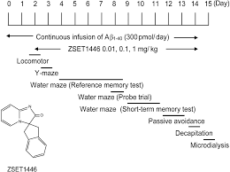 effects of a novel cognitive enhancer spiro imidazo 1 2 a