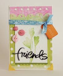 cards for friends friend s card manumcreations