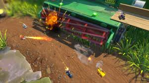 bad to the bone monster truck video micro machines world series first gameplay trailer ps4 xbox one