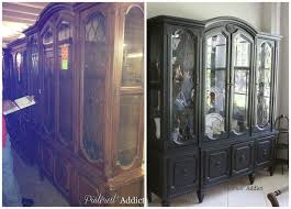 Black China Cabinet Hutch by 17 Best Images About Diy China Cabinet On Pinterest Black China