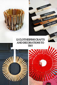 12 diy clothespin crafts and decorations to try shelterness