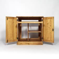 bureau pin miel bureau bois massif informatique ciré miel made in meubles