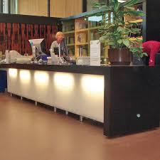 Illuminated Reception Desk Illuminated Reception Desk Glass Ceramic Decoran Galaxy