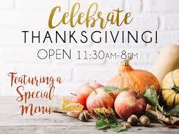 celebrate thanksgiving chapel grille restaurant cranston