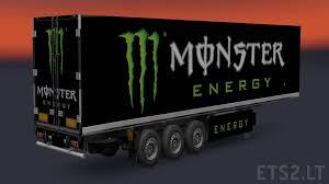 monster energy trailer 4k ets 2 mods