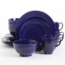 Cobalt Blue Kitchen Canisters Dinnerware Sets Gibson Outlet