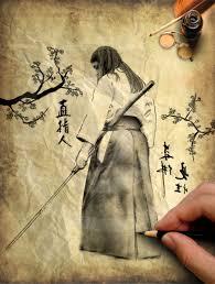 samurai sketch by shavostrawhat on deviantart