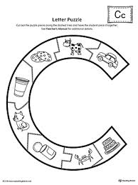 letter c puzzle printable printable worksheets motor skills and