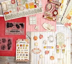 bo bunny paper embellishment and st bundle set qvc