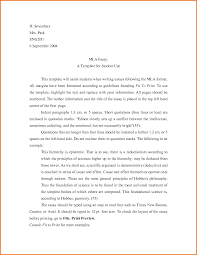 how to write a mla format paper mla format resume free resume example and writing download examples of mla essays career objective for resume samples sample 7 essay mla format sample executive
