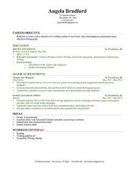 resume format for college students college student resume exles no experience professional template
