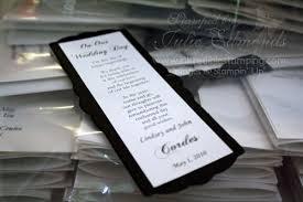 bookmark favors bookmark wedding favor inkredible sting with julie