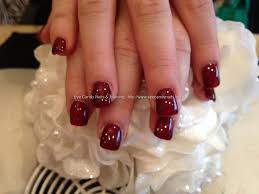 eye candy nails u0026 training gelish gel polish over acrylic nails