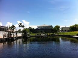 superb waterfront home on canal huge homeaway cape coral