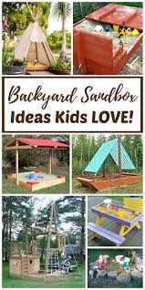 best 25 kids sandbox ideas on pinterest sandbox sandbox ideas