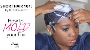how to mold and style short hair 2015 pixie the cut life