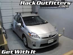 roof rack for toyota prius toyota prius thule rapid traverse black aeroblade base roof rack