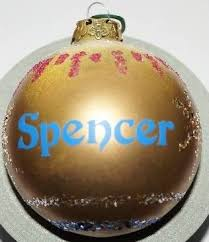 spencer steven s julie s nephew ornament days of