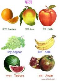 28 fruits name in hindi and english with pictures video free