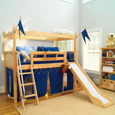 Bunk Beds For Kids Modern by Loft Bed Slide First And Foremost Security Modern Loft Beds