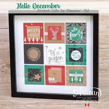 artisan home decor nice people stamp hello december home decor frame stampin u0027 up